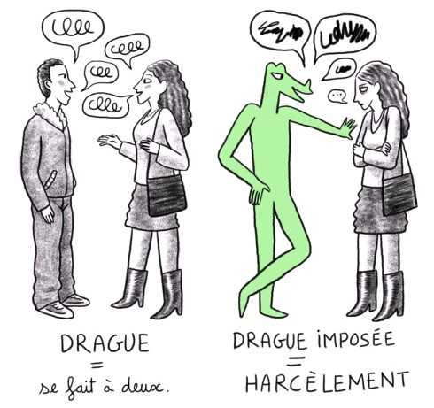 harcèlement-drague